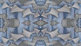 Fondo simmetrico astratto multicolore per la stampa sul clothin Fotografie Stock Libere da Diritti