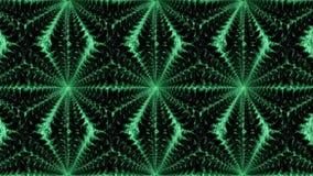 Fondo simmetrico astratto verde e nero per la stampa sul Cl Immagini Stock Libere da Diritti