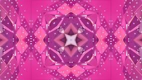 Fondo simple abstracto 3D en color púrpura rojo de la pendiente, estilo polivinílico bajo como fondo geométrico moderno o libre illustration