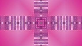 Fondo simple abstracto 3D en color púrpura rojo de la pendiente, estilo polivinílico bajo como fondo geométrico moderno o stock de ilustración
