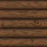 Fondo simple eps10 del vector de madera de Brown Imagen de archivo libre de regalías