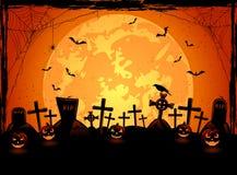 Fondo spaventoso di Halloween Fotografia Stock