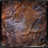 Fondo spazzolato del metallo di lerciume Fotografia Stock Libera da Diritti