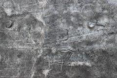 Fondo spazzolato del metallo, struttura dello strato lucidato del ferro o stai Immagini Stock Libere da Diritti