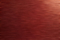 Rosso spazzolato del metallo Fotografie Stock