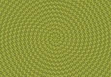 Fondo a spirale delle foglie verdi Fotografia Stock Libera da Diritti