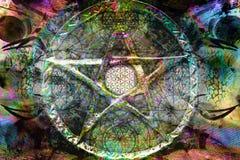 Fondo spirituale astratto fotografia stock
