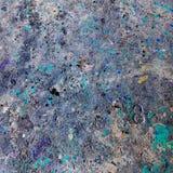 Fondo sporco del pavimento di disordine della pittura Fotografie Stock