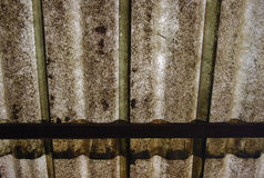Fondo sporco del tetto della fibra Fotografie Stock Libere da Diritti