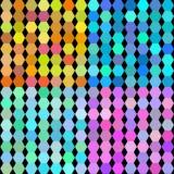 Fondo stabilito di vettore del mosaico luminoso Immagine Stock