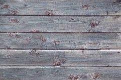 Fondo stagionato orizzontale dei bordi di legno Immagine Stock