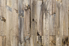 Fondo stagionato rustico di legno del granaio Immagine Stock Libera da Diritti