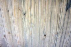 Fondo stagionato senza cuciture grigio di vecchia struttura d'annata di legno Fotografia Stock