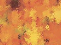 Fondo stilizzato astratto delle fiamme della lingua con le forme geometriche illustrazione di stock