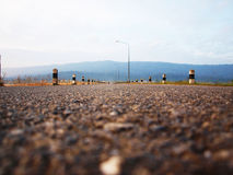 Fondo stradale Fotografie Stock Libere da Diritti