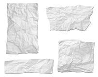 Fondo strappato del messaggio del Libro Bianco Fotografie Stock Libere da Diritti