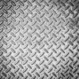 Fondo stridente d'acciaio antisdrucciolevole di punto Fotografia Stock