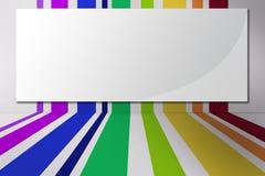 Fondo a strisce colorato Immagini Stock