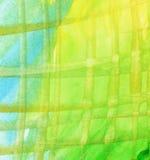 Fondo a strisce dell'acquerello Fotografia Stock