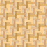 Fondo a strisce e di bambù di legno di struttura del canestro Immagine Stock