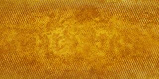 Fondo a strisce giallo-marrone Fotografia Stock Libera da Diritti