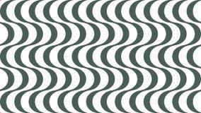 Fondo a strisce ondulato alla moda illustrazione vettoriale