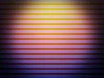 Fondo a strisce porpora di pendenza astratta con giallo del cerchio Fotografie Stock Libere da Diritti
