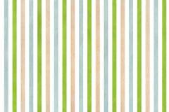 Fondo a strisce verde e blu di beige dell'acquerello, Fotografia Stock