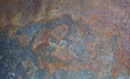Fondo strutturato astratto del metallo della ruggine Fotografia Stock Libera da Diritti