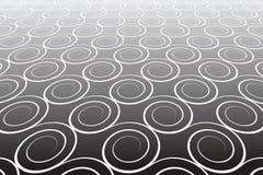 Fondo strutturato astratto. Modello con gli elementi a spirale. Fotografia Stock