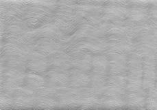 Fondo strutturato d'argento con gli elementi naturali dell'acrilico della pittura e della carta Fotografia Stock