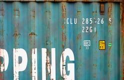 Fondo strutturato del contenitore di consegna di Aqua China fotografia stock libera da diritti