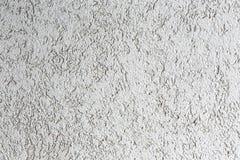 Fondo strutturato del muro di cemento bianco Immagine Stock
