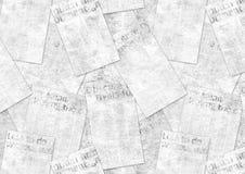 Fondo strutturato del vecchio collage d'annata di lerciume dei giornali royalty illustrazione gratis