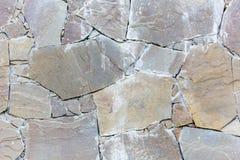 Fondo strutturato della parete del calcestruzzo grigio di Craked fotografia stock