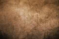 Fondo strutturato della parete di lerciume di Brown Immagine Stock Libera da Diritti