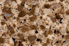 Fondo strutturato della pietra di marmo artificiale del granito Immagine Stock Libera da Diritti