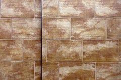 Fondo strutturato delle mattonelle di pietra, lotti del dettaglio Immagine Stock