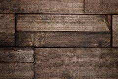 Fondo strutturato di legno della carta da parati di Brown Immagini Stock Libere da Diritti