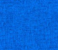 Fondo strutturato di tessuto sgualcito blu fotografia stock libera da diritti