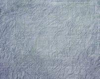 Fondo strutturato di tessuto sgualcito blu immagini stock libere da diritti