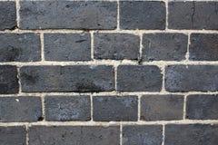 Fondo strutturato stagionato astratto del muro di mattoni Fotografia Stock Libera da Diritti