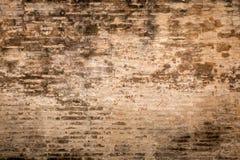 Fondo strutturato stagionato 3 del muro di mattoni e del gesso Fotografie Stock Libere da Diritti