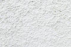Fondo stuccoed blanco de la textura de la fachada Imagen de archivo libre de regalías