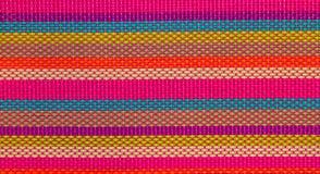 Fondo, stuoia multicolore Fotografia Stock