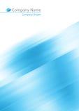 Fondo suave azul abstracto Fotografía de archivo libre de regalías