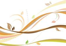 Fondo suave del otoño Imagen de archivo libre de regalías