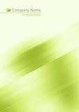 Fondo suave verde abstracto stock de ilustración