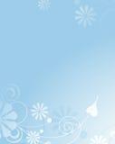 Fondo suavemente azul Imagen de archivo libre de regalías