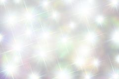 Fondo suavemente silenciado de las estrellas Fotografía de archivo libre de regalías